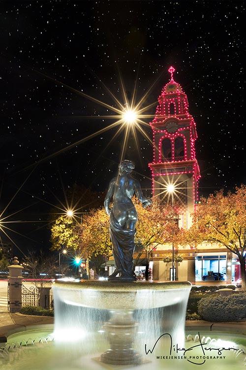 Plaza Lights Fountain