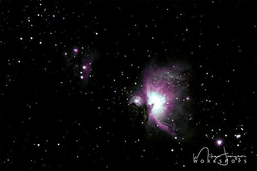 Orion Nebula by Mike Jensen